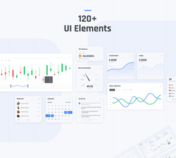 Dashboard UI Kit Adobe XD - UIUX Repo Free UI Design Resources